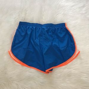 Nike Shorts - NEW wTag-NIKE Blue w/Orange Trim Running Shorts 1X